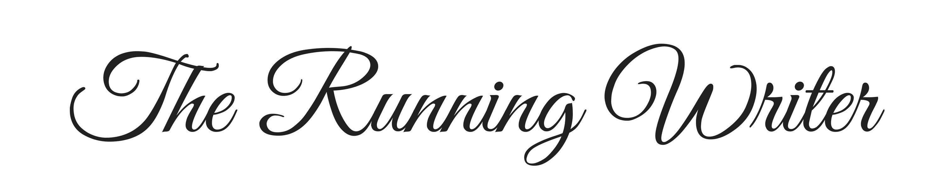 The Running Writer